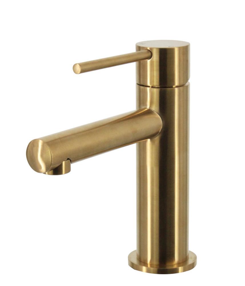 GOLD | BRASS Lollypop Basin Mixer Tap
