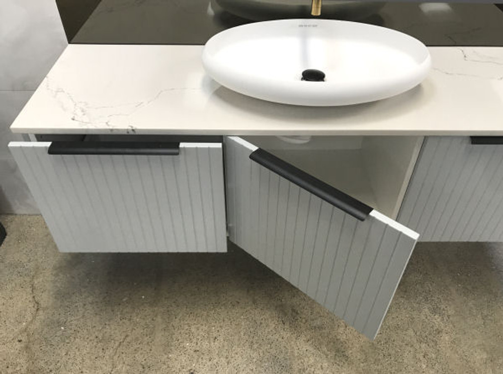 Cottage 1200 mm Vanity with Stone Top & Bench-top Basin