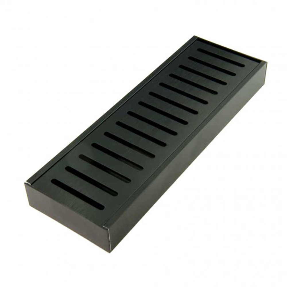 300-5600mm Aluminium Midnight Floor Grate Drain Any Size Indoor