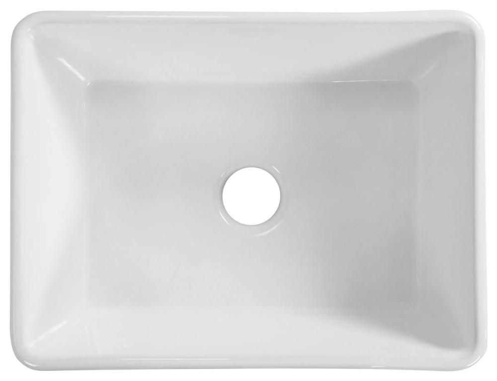 Normandy Ceramic Fireclay Butler Single Kitchen Sink