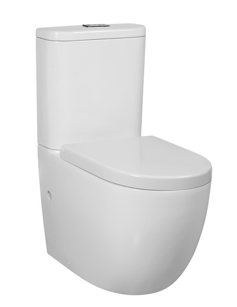 Inspire COSENZA Wall Faced Toilet Suite - Rimless