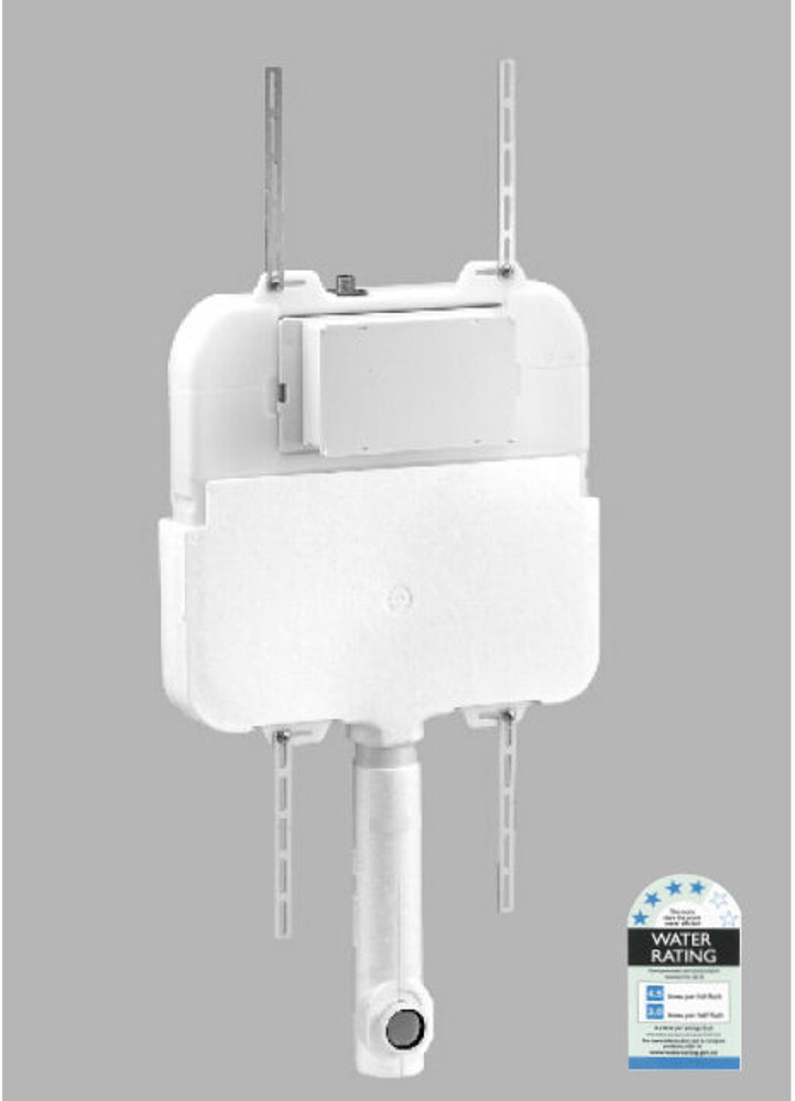 KEMP 2 Wall Faced Pan with In Wall Cistern