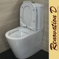 Normandy Sens Wall Faced Toilet Suite - RIMLESS