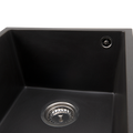 PYRAGRANITE Granite Kitchen Sink - Under Mount - Single Bowl 380 x 440mm Made In Europe