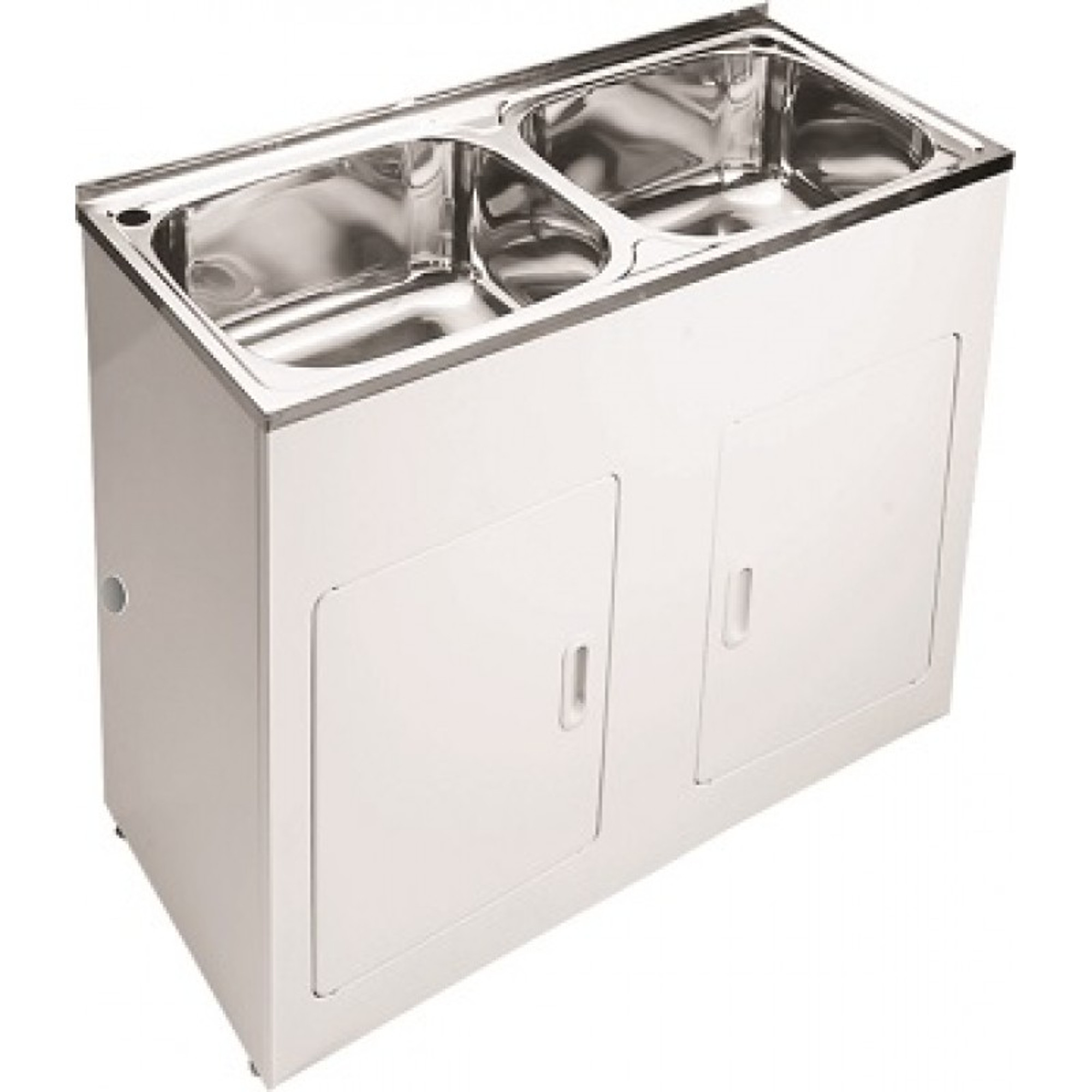 Project Double 45 Liters Laundry Sink Tub Cabinet Renovation D