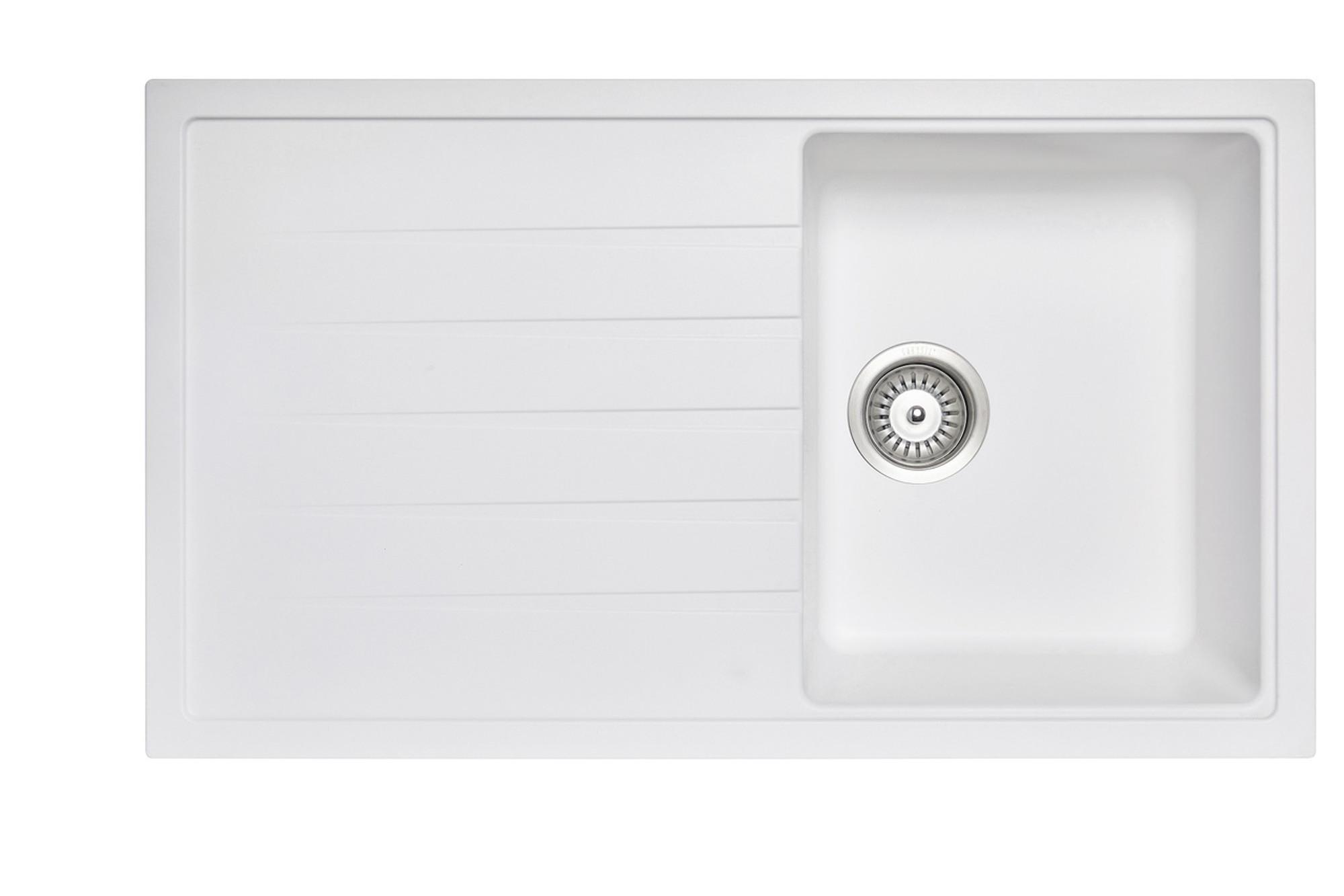 Carysil Vivaldi D100 Granite Kitchen Sink 860mm X 500 Mm X 205mm