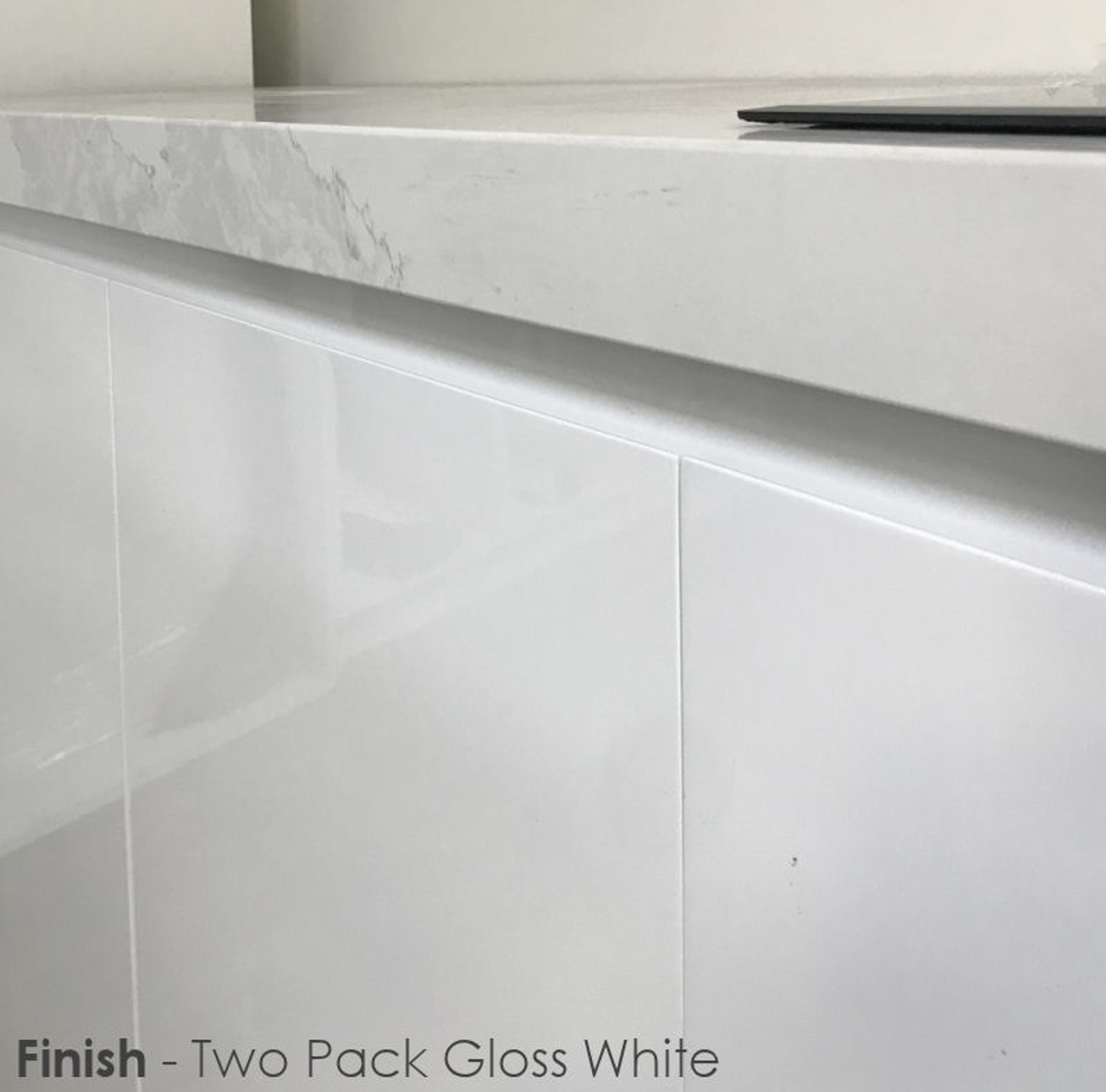 Polyurethane Kitchen Cabinets: Kitchen Wall Cabinet With Door (PUR Paint)
