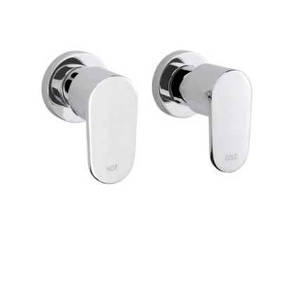 Linsol Realm Wall Top Tap Set