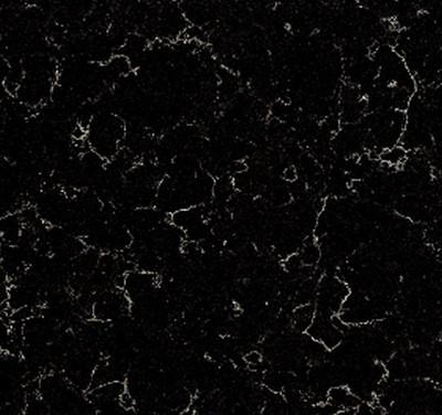 Vanity Stone Bench Top - Nubula Black  900 x 460