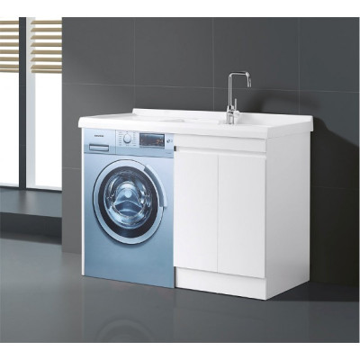 Laundry Cabinet With Washing Machine Space