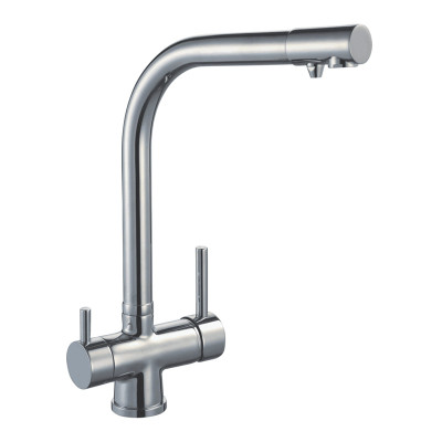 Lollypop Arch Three Way Kitchen Mixer Tap - Hot+Cold+Filtered