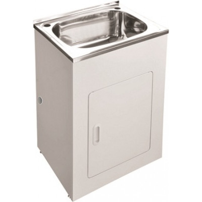 PROJECT 45 Liter Extra Wide Laundry Sink Tub Cabinet (SINK + CABINET)
