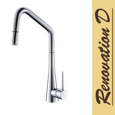 Lollypop ROC Kitchen Mixer Tap - Chrome