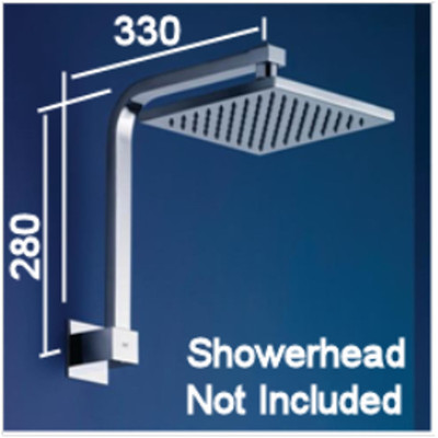 Normandy Square Shower Arm J2 - For Shower Head