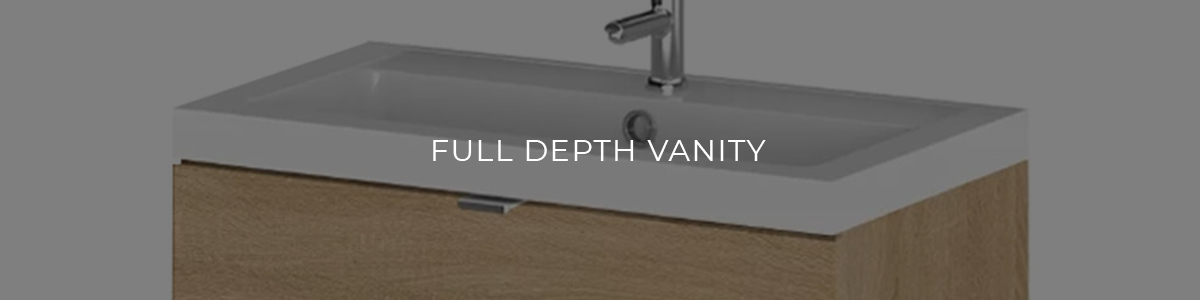 Full Depth Vanity