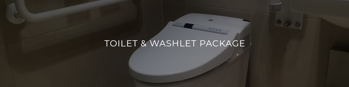 Toilet & Washlet Package