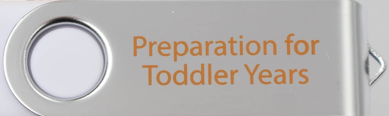 06-Preparation For Toddler Years | 4-Part Video Series (USB Computer Read-Only Drive-Mac/PC) NON-REFUNDABLE Item