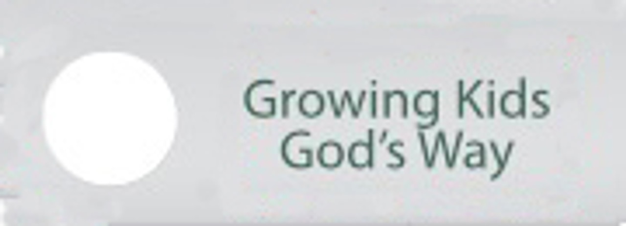 06-Growing Kids God's Way | 17-Part Video Series (USB Computer Read-Only Drive-Mac/PC)