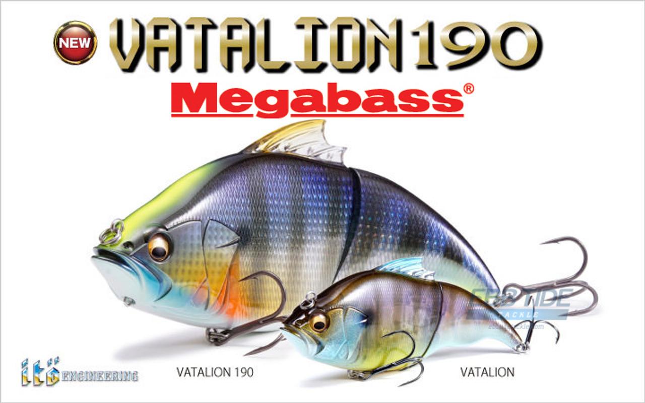Megabass Vatalion 190SF Mat Tiger