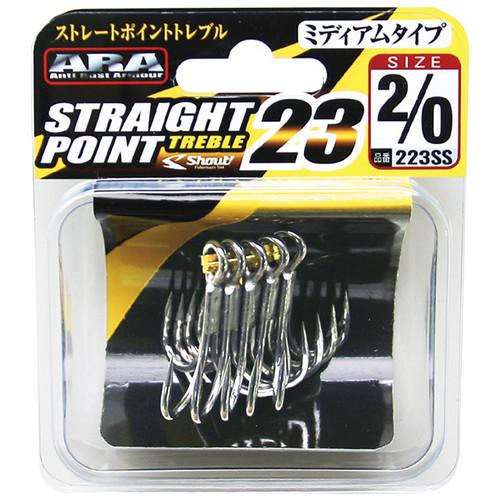Shout Straight Point Treble 23