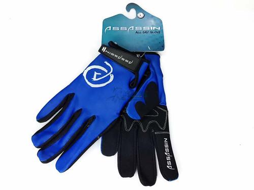 Assassin All Day Glove Blue Logo