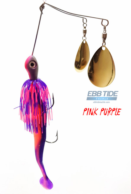 Harro's Twin Spinnerbait Pink Purple