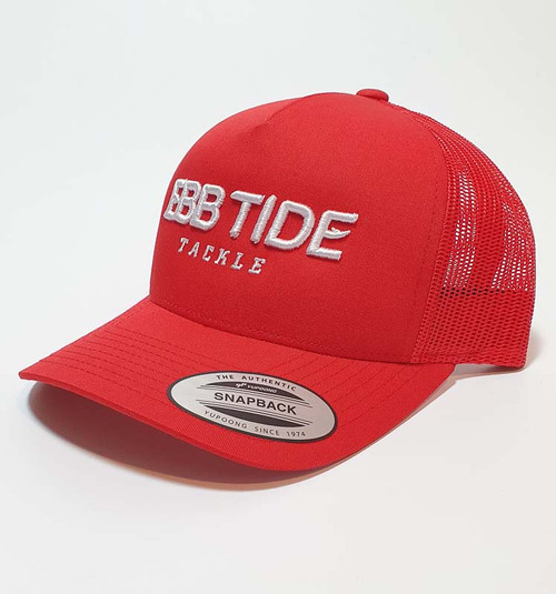 Ebb Tide Snapback 3-D Cap (Red)