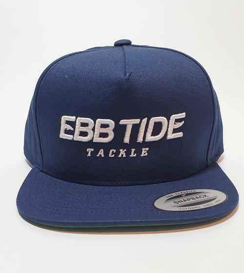 Ebb Tide Snapback 3-D Flatpeak Cap (Navy)