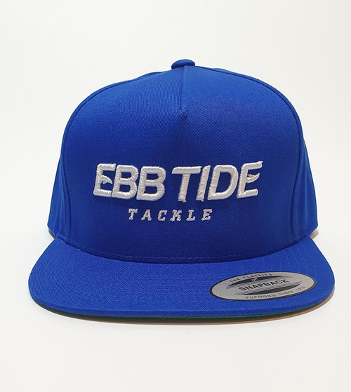 Ebb Tide Snapback 3-D Flatpeak Cap (Royal Blue)
