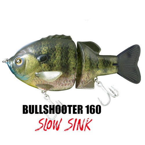 Deps Bull Shooter 160SS Slow Sink