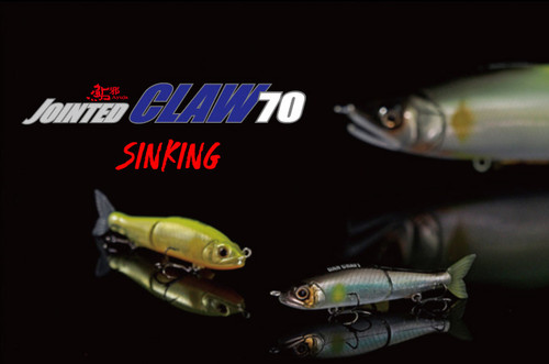 GanCraft Jointed Claw 70 Sinking