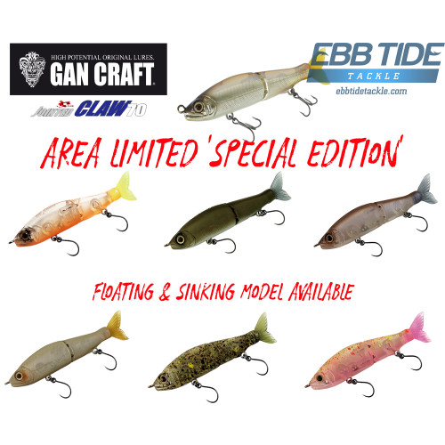 Gan Craft Jointed Claw 70 Floating 'Area Limited'