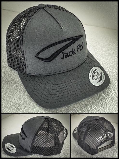 Jack Fin Cap - Charcoal