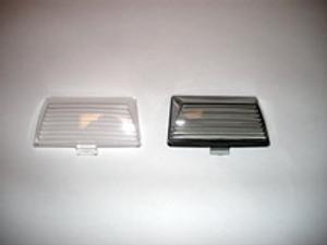 Fender Tip Lens-Front Lens-Clear