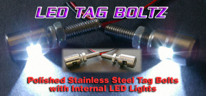 LED Tag Boltz - Blue Tag LEDs