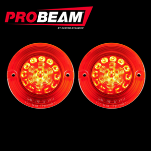 FLAT PROBEAM® SOLID RED 1156 REAR LED INSERTS