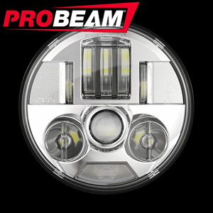 "PROBEAM® 7"" LED HEADLAMP FOR INDIAN®"