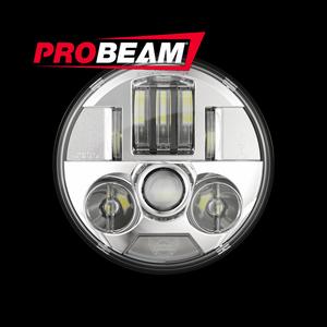 "PROBEAM® 5.75"" LED HEADLAMP FOR HARLEY-DAVIDSON® MOTORCYCLES"