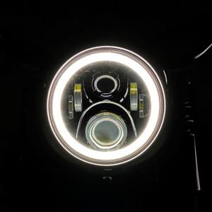 "7"" WHITE LED HALO HEADLAMP FOR HARLEY-DAVIDSON®"
