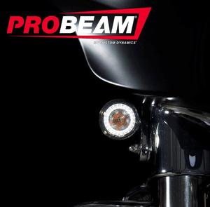 ProBEAM® CVO™ Amber/White Dynamic Ringz™ with Smoked Lenses