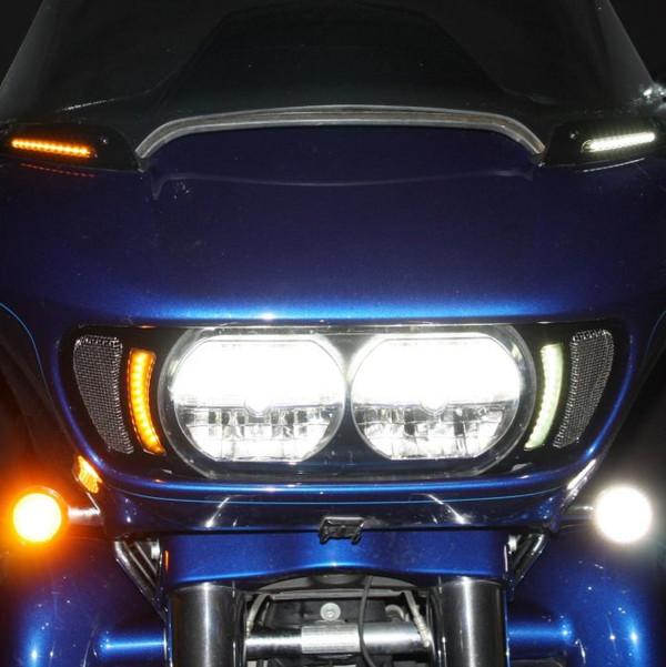 Dynamic LED Vent Inserts