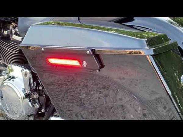 Saddlebag LED Latch Lightz