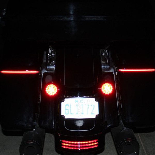 LOW PROFILE BAGZ™ LED SADDLEBAG LIGHTS