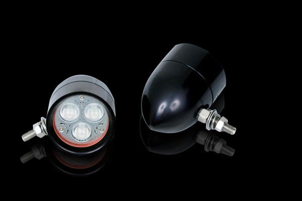 Cool Magic Billet Driving Lights Black Anodized