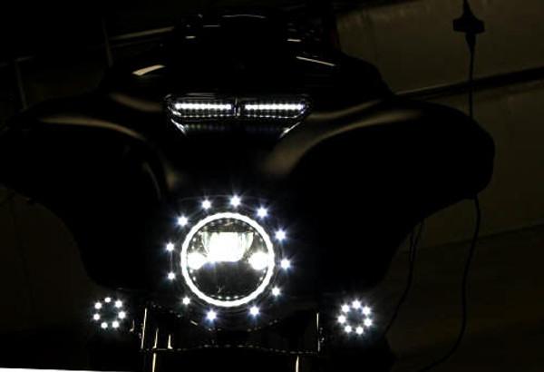 Windshield LED Vent Trim Kit