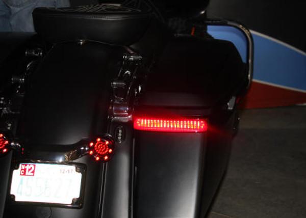 Saddlebag SS8 Lights