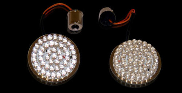 Dynamic Ringz™  Bullet Style Turn Signal LED Inserts