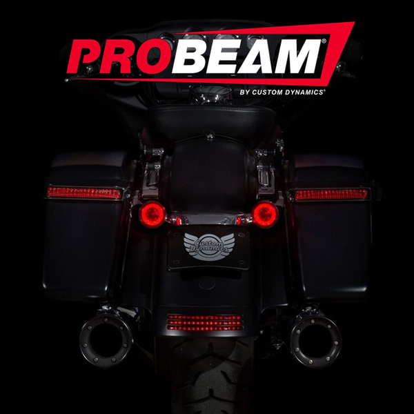 ProBEAM® Red LED Turn Signals with Red Lenses
