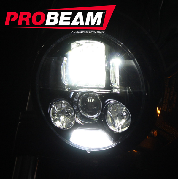 "5.75"" ProBEAM® LED Headlamp for Indian® Scout®"