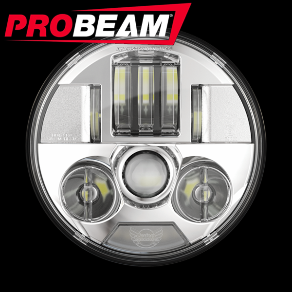 "PROBEAM® 7"" LED HEADLAMP FOR INDIAN®"